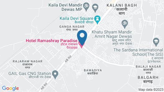 Hotel Ramashray Paradise Map