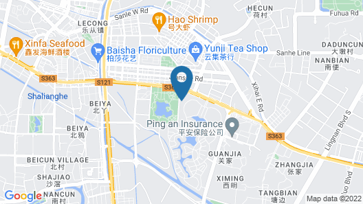 Enjoy Private Apartment Hotel Lucky City Map