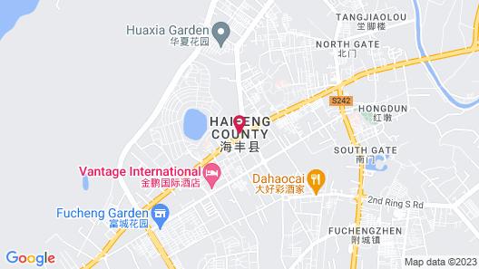 GreenTree Inn Shanwei Haifeng County South Sanhuan Road Hotel Map