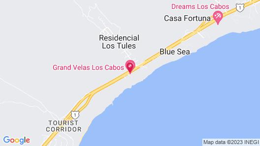 Garza Blanca Los Cabos - All Inclusive Map