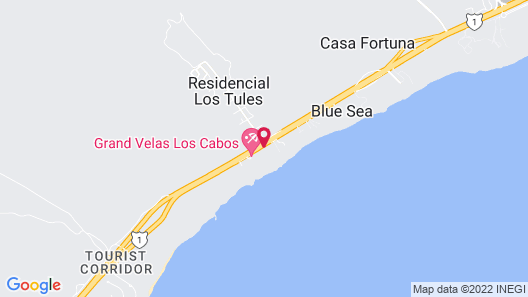 Mar del Cabo By Velas Resorts Map