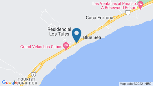 Garza Blanca Resort & Spa Los Cabos Map