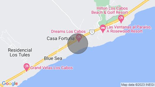 Dreams Los Cabos Suites Golf Resort & Spa Map