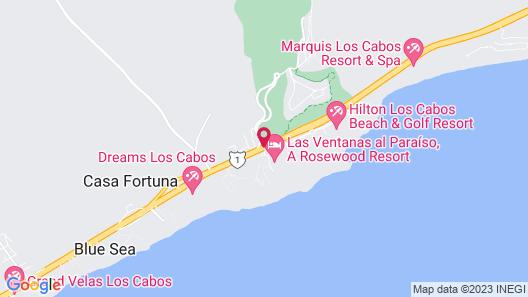 Las Ventanas al Paraiso, A Rosewood Resort Map