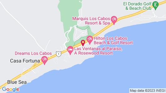 Paradisus Los Cabos - All Inclusive Map