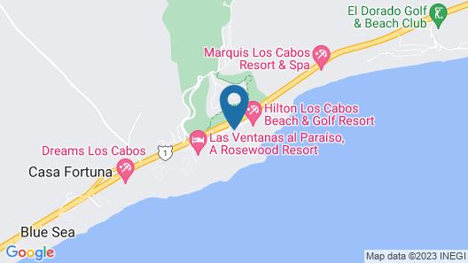 Paradisus Los Cabos Map