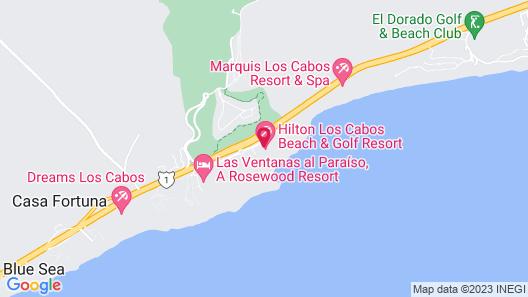 La Pacifica Los Cabos by Hilton Grand Vacations Map