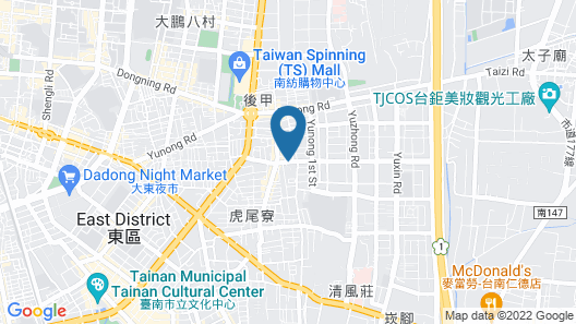 Talmud Hotel Tainan Map