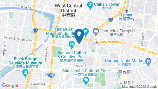 Silks Place Tainan Map