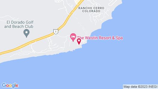 Club Regina Los Cabos Map