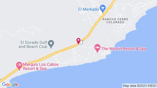 The Westin Los Cabos Resort Villas & Spa Map