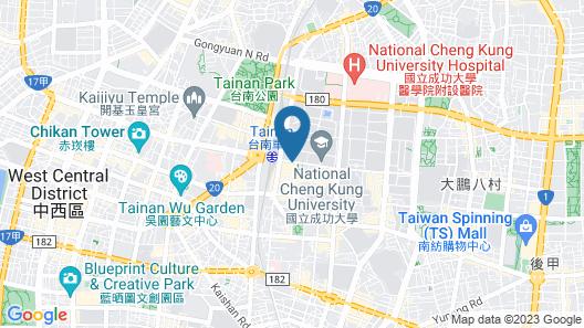 Shangri-La Far Eastern Plaza, Tainan Map