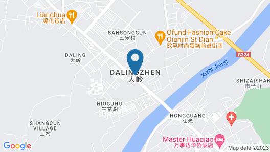 Hui Zhou Hou Niao Shui Rong Zhuang Villa  Map