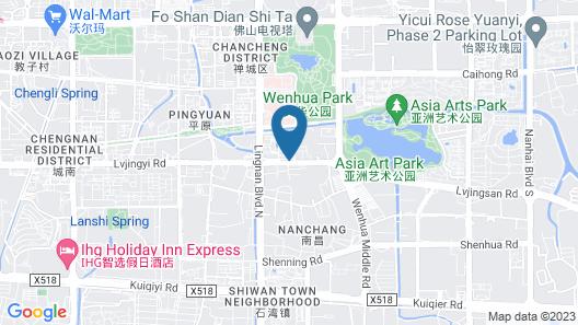 Yumi Boutique Apartment Map