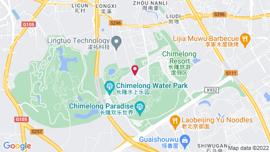 Chimelong Hotel Map