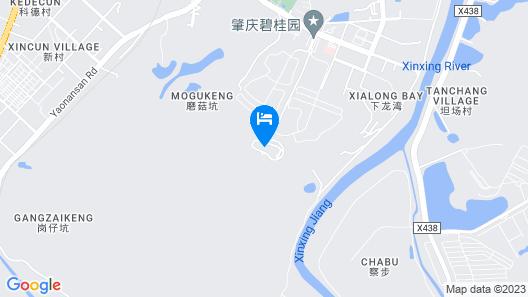 Country Garden Phoenix Hotel Zhaoqing Map
