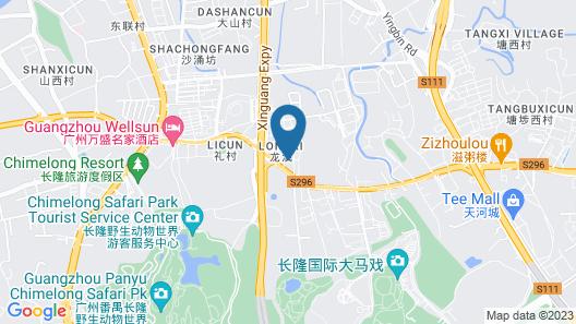 Vienna Hotel Guangzhou Chimelong Branch Map