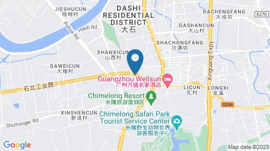 Guangzhou Wellsun Hotel Map