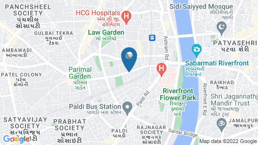 Four Points by Sheraton Ahmedabad Map