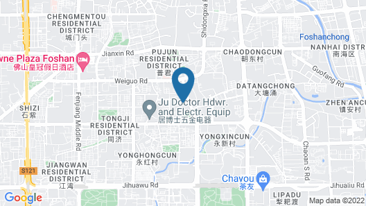 Fo Shan Wei Fu Dun Apartment Map