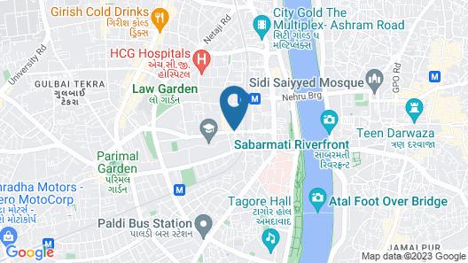 Hotel Inder Residency Map