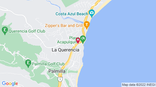 Cabo Surf Hotel & Spa Map