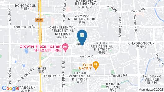 U Service Apartment Map