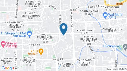 YUMI Apartment-Pujun Station Branch Map