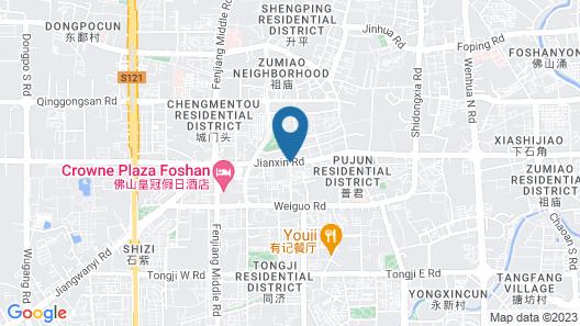 BoDun International Serviced Apartment Map