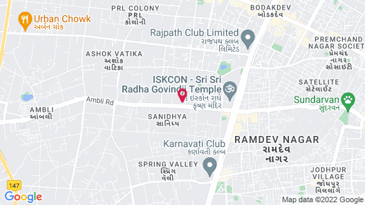DoubleTree by Hilton Ahmedabad Map