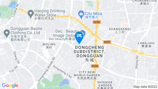 Dongguan Dongcheng International Hotel Map