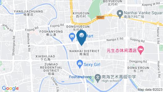 Yuwa Serviced ApartHotel Map