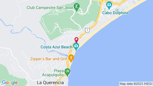 Reflect Krystal Grand Los Cabos Map