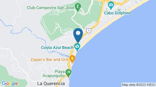 Krystal Grand Los Cabos - All inclusive Map