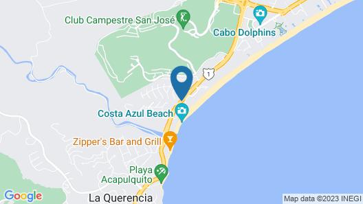 Krystal Grand Los Cabos All Inclusive Map