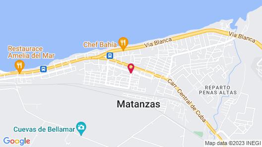 Villa Lara Map