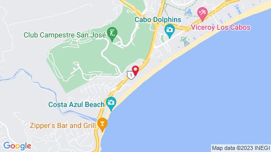 WorldMark Coral Baja Map