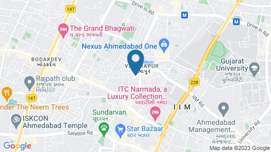 Hotel Shital Inn Map