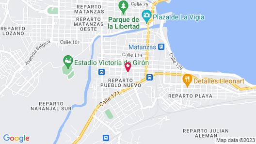 Villa Costa Azul Map