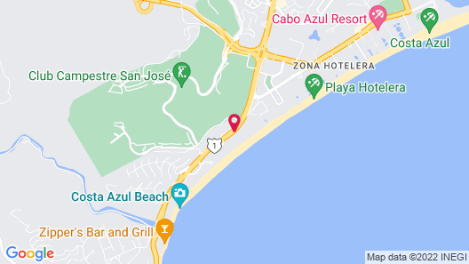 Le Blanc Spa Resort Los Cabos Adults Only All-Inclusive Map