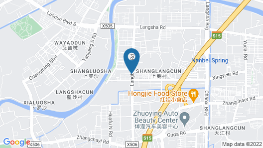YUMI Apartment-Lingyi Tech Zone Branch Map