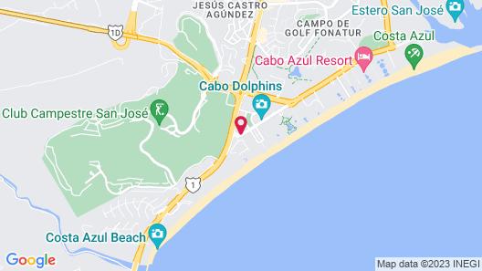Hyatt Place Los Cabos Map