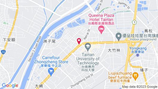 Friendly Inn Map