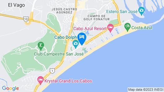 Hyatt Ziva Los Cabos- All Inclusive Map