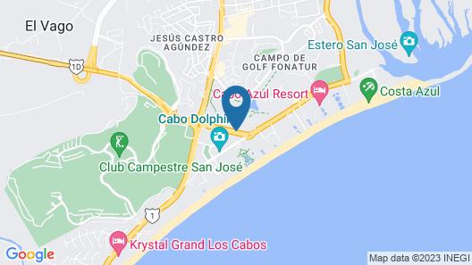 Park Royal Homestay Los Cabos Map