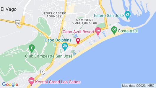 Hotel Posada Real Map