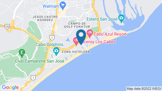 Barceló Gran Faro Los Cabos - All Inclusive Map