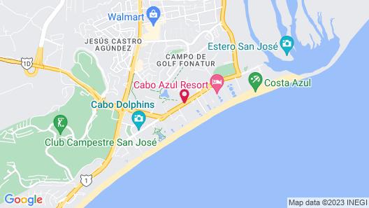 Viceroy Los Cabos Map