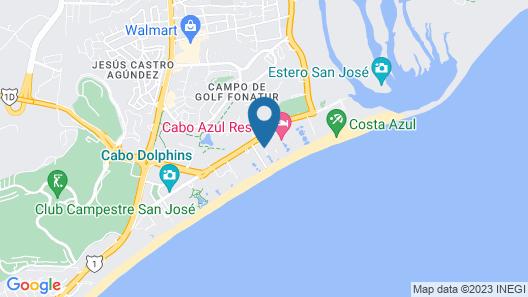Club Solaris Los Cabos - All Inclusive  Map