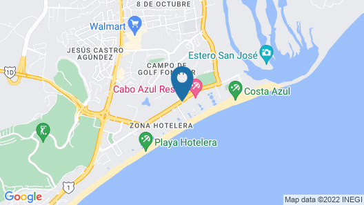 Royal Solaris Los Cabos & Spa - All Inclusive Map
